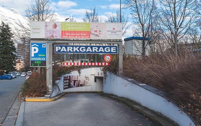 Kostenlos Parken Innsbruck